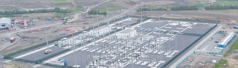Clonee 220kV Substation - Gaeltec Utilities